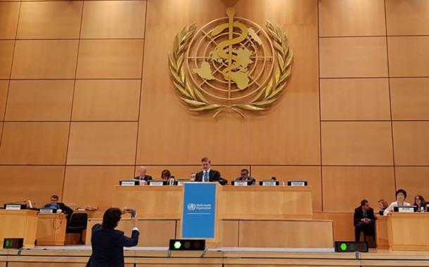 71. Dünya Sağlık Asamblesi başladı.