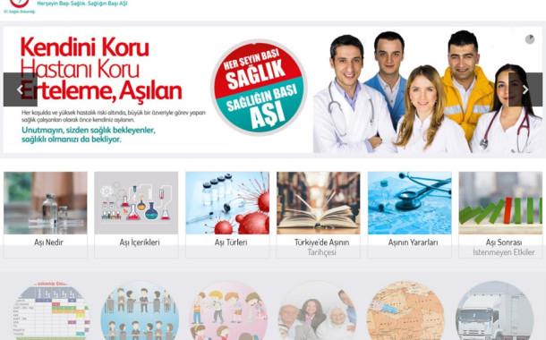Halk Sağlığı Müdürlüğünden Aşı Bilgilendirme Sitesi