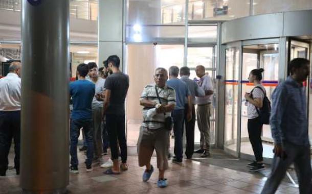 Akdeniz Üniversite Hastanesi'nde Hastalar Zor Anlar Yaşadı
