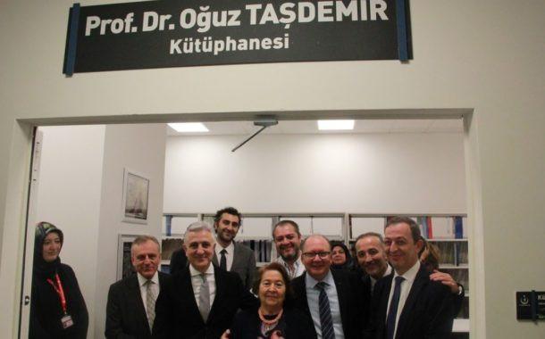 Ankara Şehir Hastanesin'de Prof.Dr. Oğuz TAŞDEMİR kütüphanesi açıldı