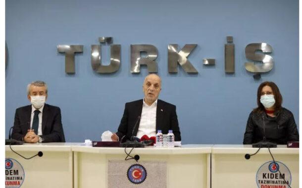 Türk-İş'ten flash son dakika açıklaması