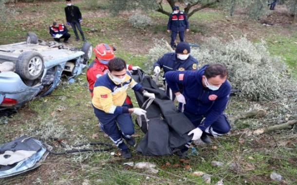 Sağlık personeli kazada hayatını kaybetti