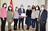Antalya İl Sağlık Müdürlüğüne birincilik ödülü