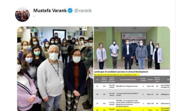 Türkiye coronavirüs aşı çalışması. Son Dakika