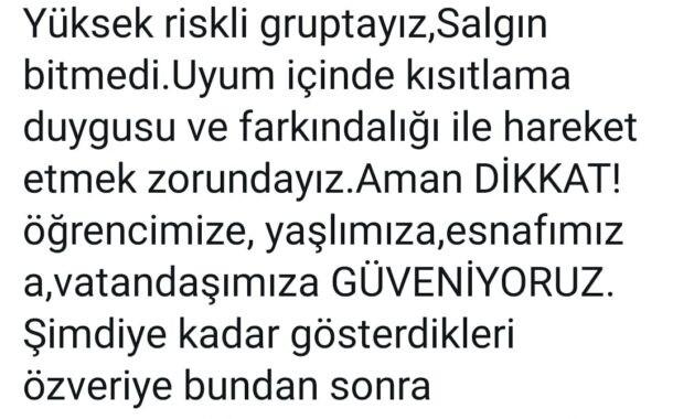 İstanbul İl Sağlık Müdürü Prof. Dr. Kemal Memişoğlu Uyardı