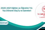 Hastane staj başvurusu Ankara