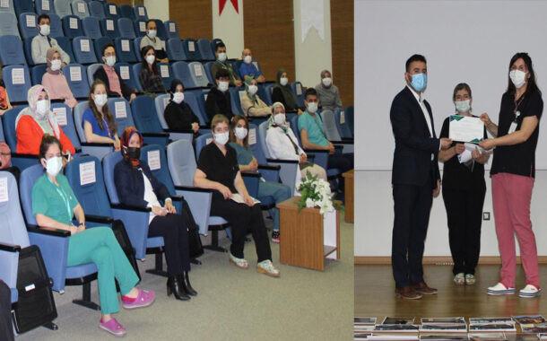 Yozgat Şehir Hastanesinde Sertifika Töreni