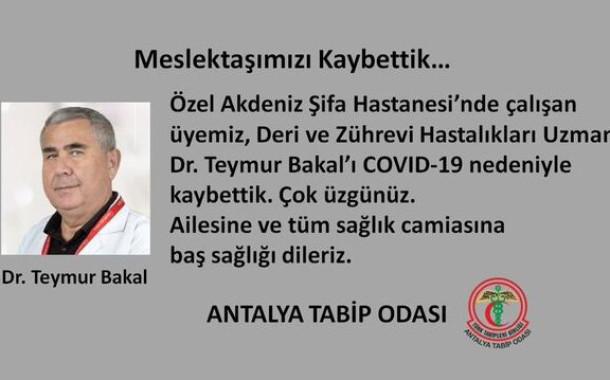 Doktor Teymur Bakal Koronavirüse Yenik Düştü