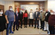 Aile Ve Sosyal Hizmetler Bakanı Derya Yanık Engellilerle Buluştu