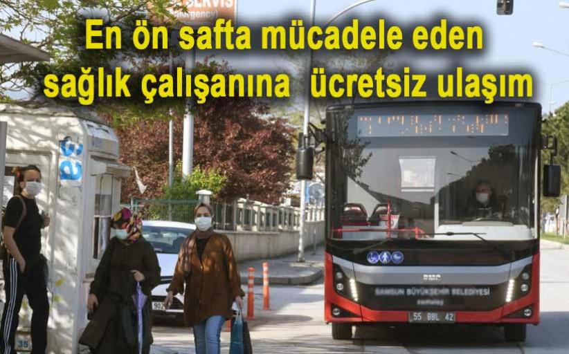 İstanbul'da sağlık çalışanlarına ücretsiz ulaşım