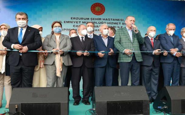 Cumhurbaşkanı Erzurum Şehir Hastanesi'nin Açılışını Yaptı