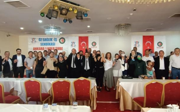 Ankara Öz Sağlık İş Sendikası İşçi Temsilcileriyle Buluştu