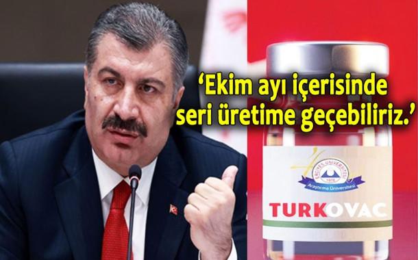 Sağlık Bakanı Koca'dan TURKOVAC'la İlgili Önemli Açıklama!
