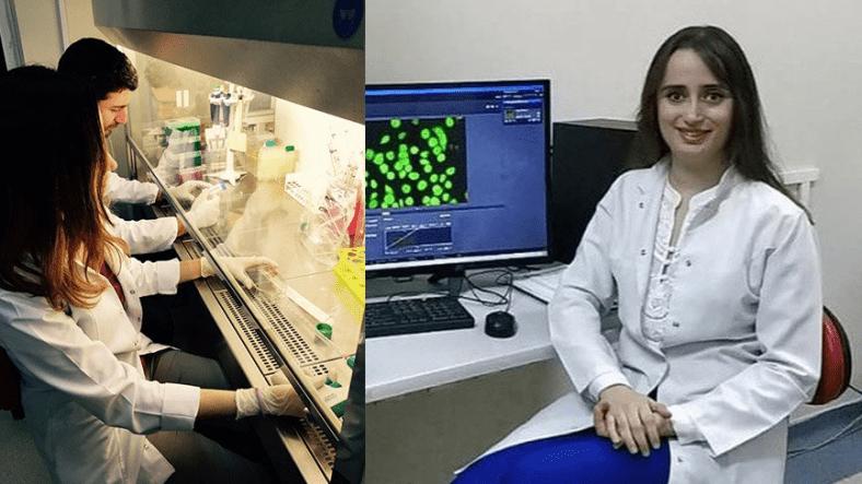 Tıp Fakültesi öğrencisi Aslı Nur Özkan'dan, örümcek ağı özütünden prostat kanserini yok eden buluş