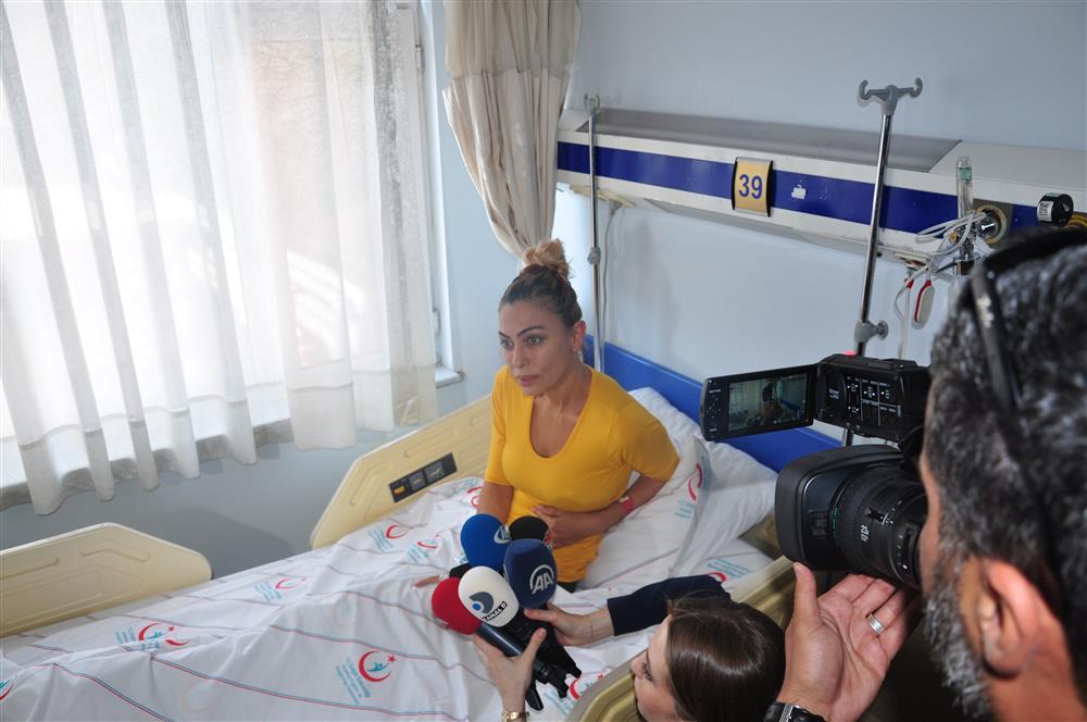 Leyla Bilginel Sağlık Bakanlığının Girişimleriyle Türkiye'de