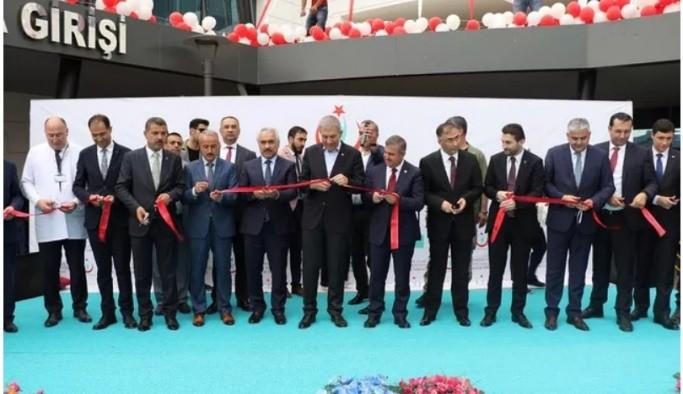 Sağlık Bakanı Demircan Sinop'ta 3 Dev Hastane Açılışı Yaptı.