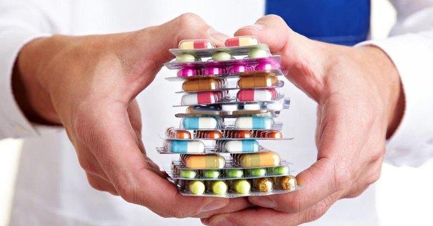Liste başı kanser ilaçları! Antibiyotikler ise 3. sırada!