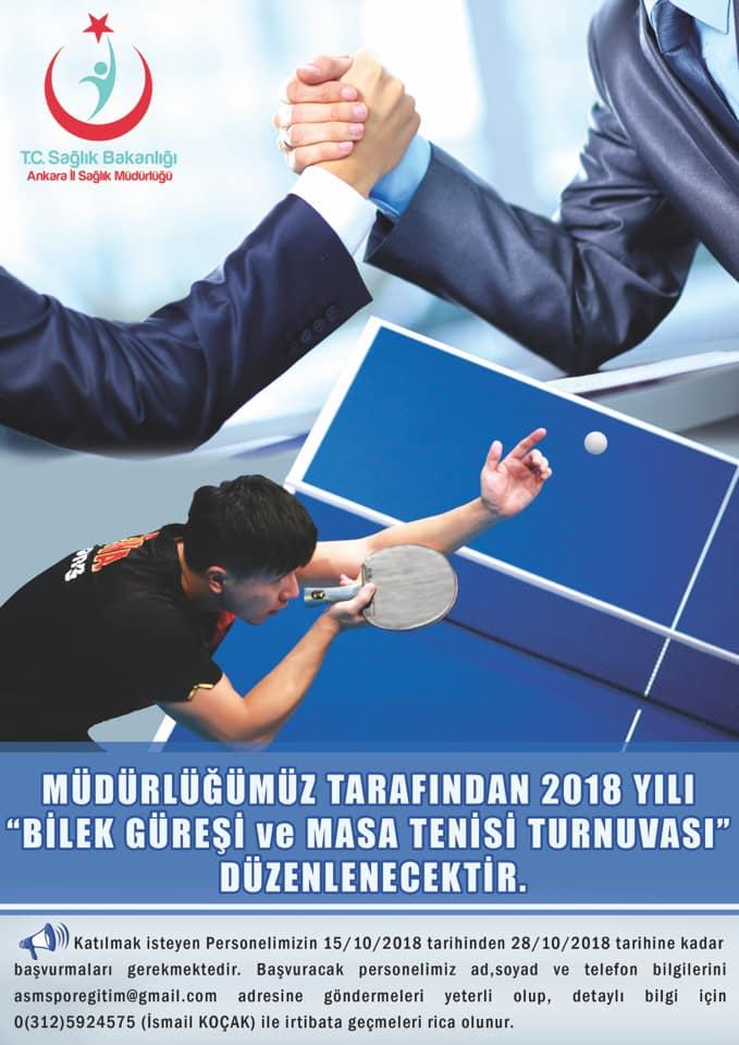 Bilek güreşi ve masa tenisi turnuvasına katılmak ister misiniz?