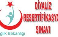 Dicle Üniversitesi Diyaliz Resertifikasyon Sınavı Duyurusu