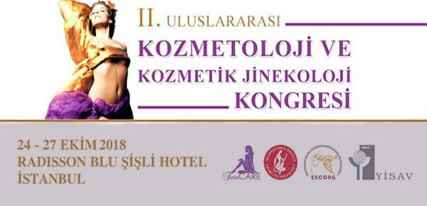 II. Uluslararası Kozmetoloji ve Kozmetik Jinekoloji Kongresi