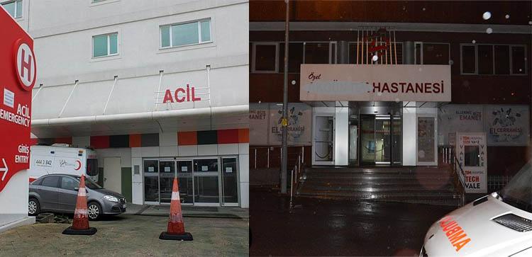 Borçları nedeniyle iki özel hastane kapandı