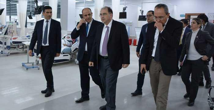 Kamu Hastaneler Genel Müdürü Prof. Dr. Rahmi Kılıç'dan  Nevşehir Ziyareti