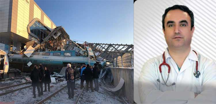 Uzman Doktor Tren Kazasında Hayatını Kaybetti