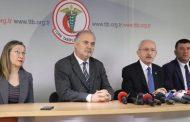 Kılıçdaroğlu'ndan Türk Tabipleri Birliği'ne ziyaret
