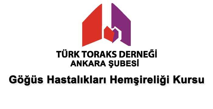 TTD Ankara Şubesinden Göğüs Hastalıkları Hemşireliği Kursu