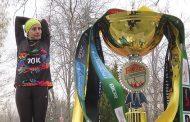 Hemşire Eda Kınacı,Ultra 70K maratonunda birinci oldu.
