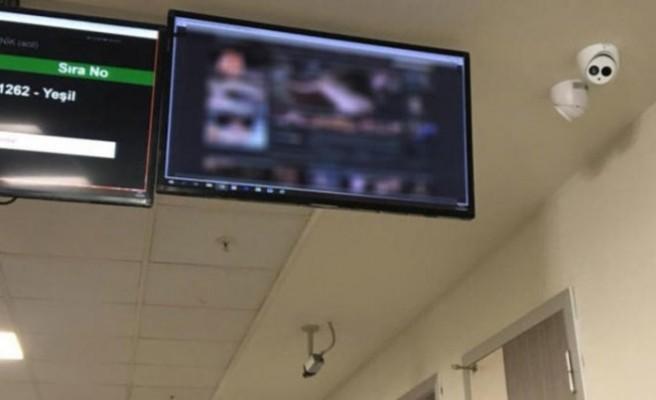 Hastanede şok görüntü! Cinsel içerikli...