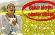 Bahar alerjisi nedir? Bahar alerjisinden korunma yolları!