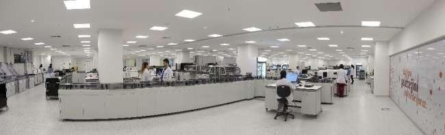 Ankara Şehir Hastanesi Bilkent'e Avrupa'nın en büyük laboratuvarı kuruldu
