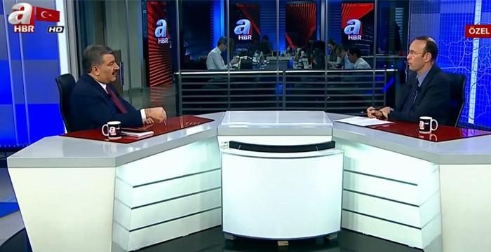 Sağlık Bakanı Fahrettin Koca A Haber'e çarpıcı açıklamalarda bulundu.
