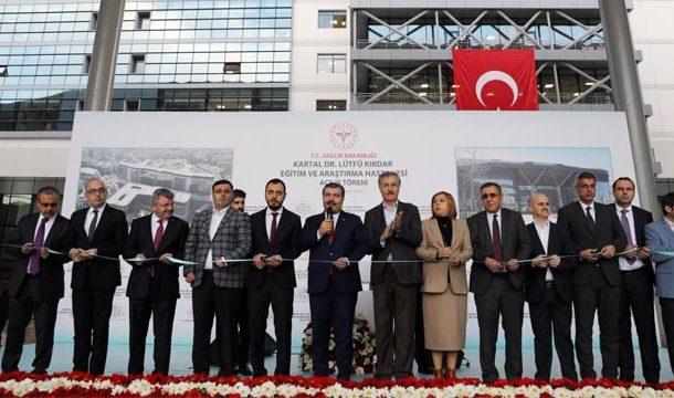 Kartal Dr. Lütfi Kırdar Eğitim ve Araştırma Hastanesi açılışı