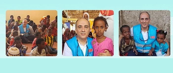 Doktor Semih Dinçer Yetiş Etiyopya'da Yetimlere Umut Oldu