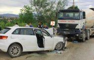 İçinde Doktor ve Hemşirelerin Bulunduğu Araç Kaza Yaptı, Yaralılar Var.