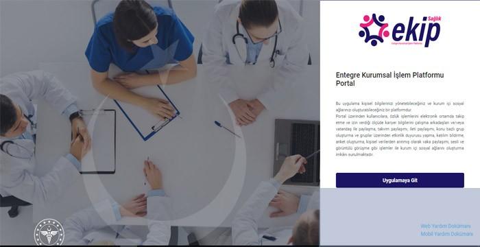 Sağlık Bakanlığından Sosyal Medya Platformu - EKİP