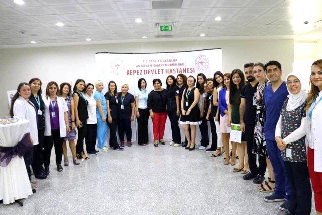 Kepez Devlet Hastanesi; 'Sağlıkta İletişim Sağlıklı İletişim' sempozyumu