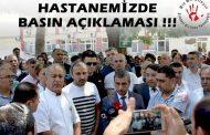 Gaziantep Devlet Hastanesi'nde doktor'un bıçaklanmasına tepki