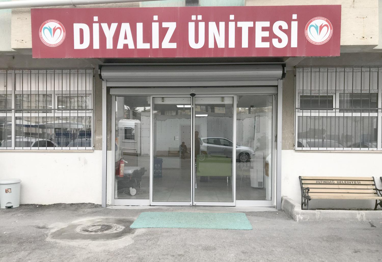 Dışkapı Yıldırım Beyazıt Eğitim Araştırma Hastanesi Hasköy Diyaliz Merkezi