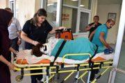 Otomobilin çarptığı hemşire yaralandı!
