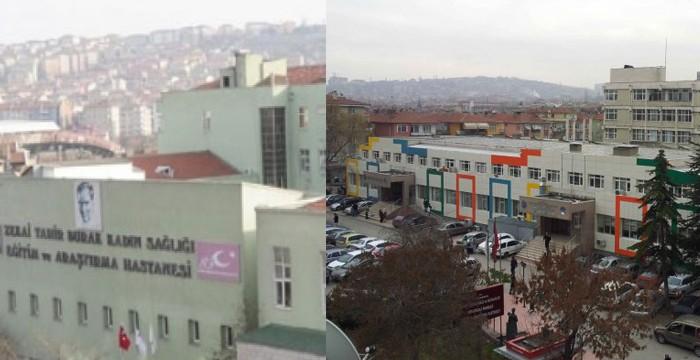 Ankara'da tarihi 2 hastane daha kapanıyor.