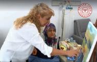 Ankara Şehir Hastanesi Onkoloji Hastanesinde Hastalar Resim Yapmayı Öğreniyor