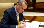 Cumhurbaşkanı Recep Tayyip Erdoğan üç üniversiteye rektör ataması yaptı
