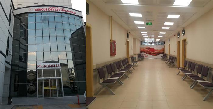 Gercüş Devlet Hastanesi Yeni Hizmet Binasında
