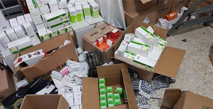 Ankara'da bir şüpheliden faturasız ve belgesiz 14 bin 490 ilaç çıktı