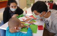 Tedavi gören çocuklara hastanede eğitim imkanı