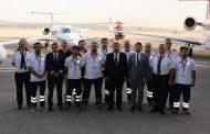 856 hasta uçak, 1518 hasta helikopter ambulans ile taşındı