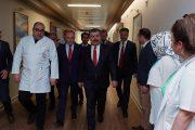 Sağlık Bakanından Fatma Girik'e ziyaret